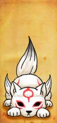 OkamiDen Chibiterasu by Lyrin-83