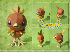 Torchic Papercraft by Lyrin-83