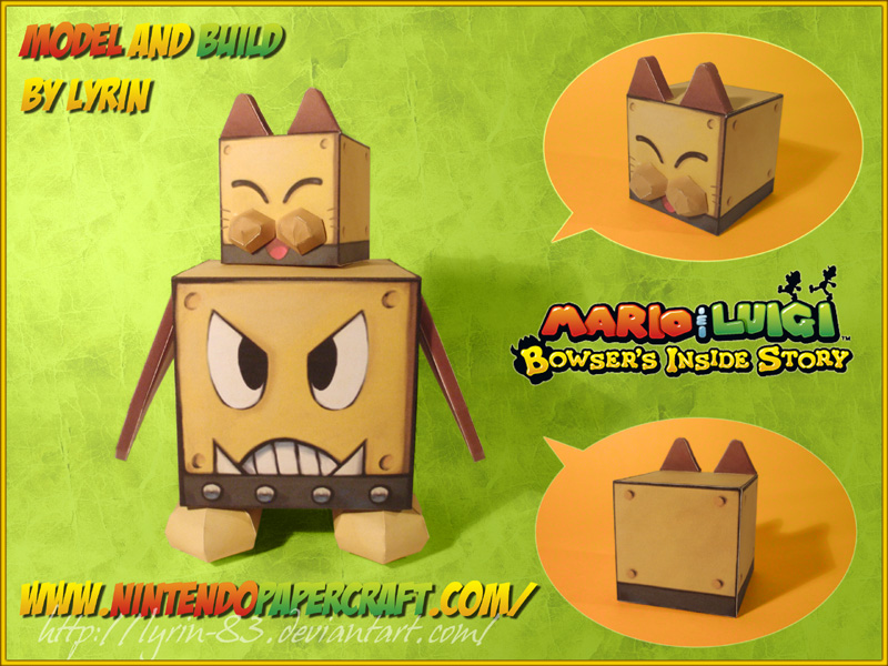 Blitty Papercraft by Lyrin-83