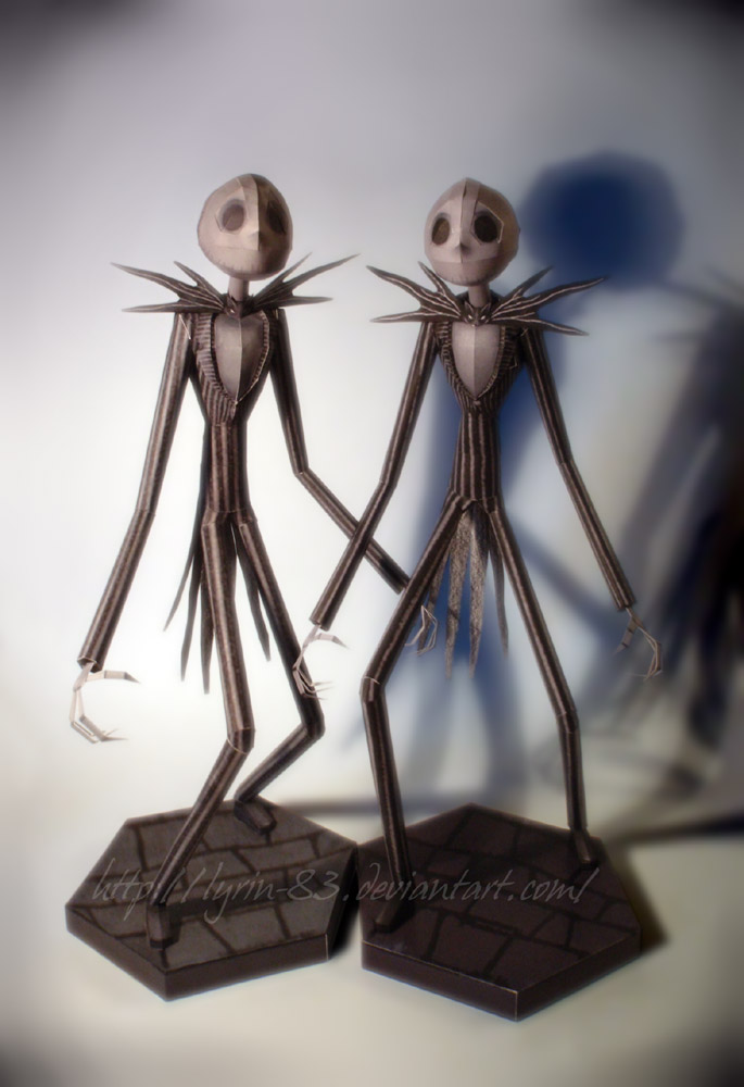 Double Jack - papercraft by Lyrin-83