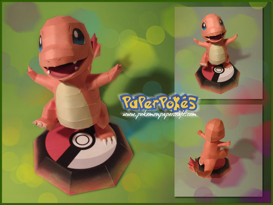 Charmander papercraft by Lyrin-83