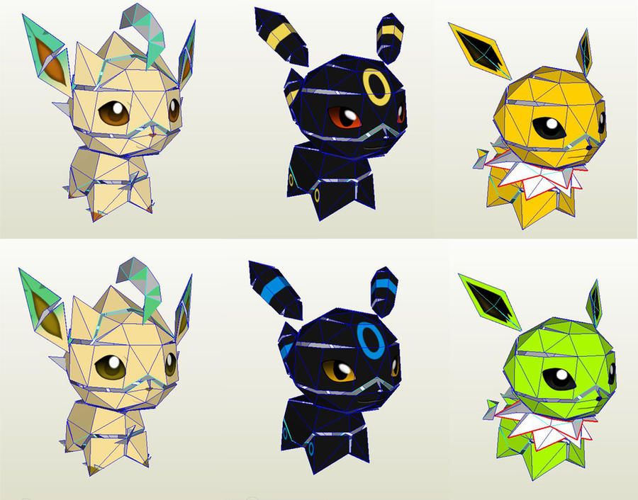 Chibi Eons Textured by Lyrin-83