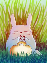 Totoro love by Lyrin-83