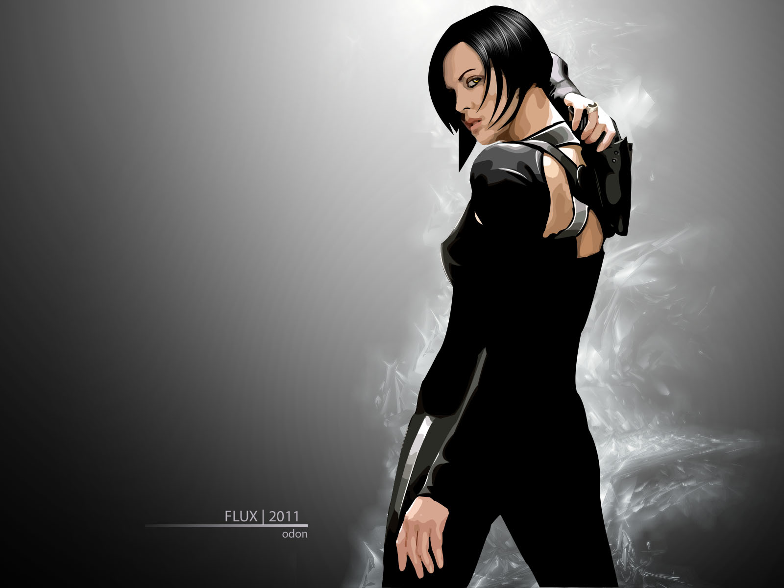 Aeon Flux by Zyxel21 on DeviantArt