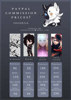 New commission prices list by SouOrtiz