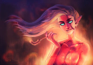 Lady Flame by SouOrtiz