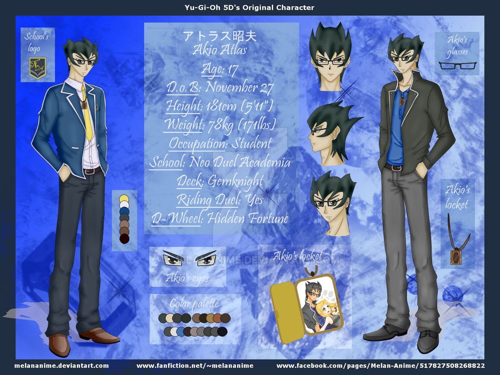 YGO 5D's OC: Akio Atlas