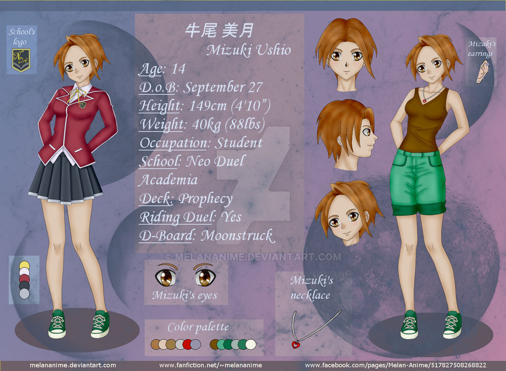 YGO 5D's OC: Mizuki Ushio