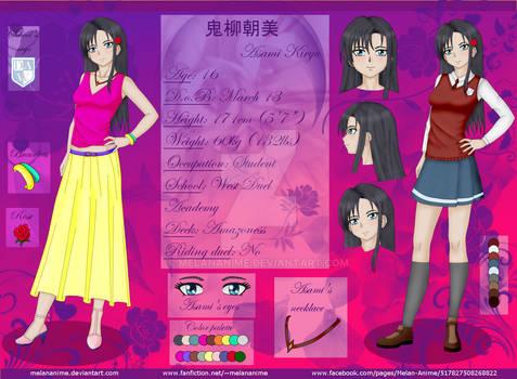 YGO 5D's OC Asami Kiryu