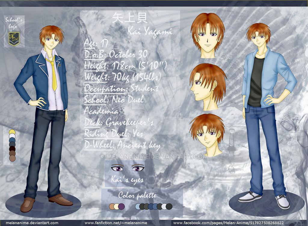 YGO 5D's OC: Kai Yagami