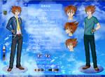 YGO 5D's OC: Kazuo Kazama