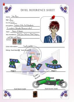 Duel ref. sheet: Ryuu