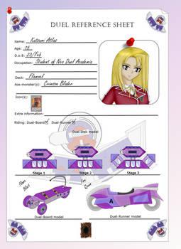 Duel ref. Sheet: Katsumi