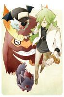 Pokemon: Crazy Nutcase N by e1n