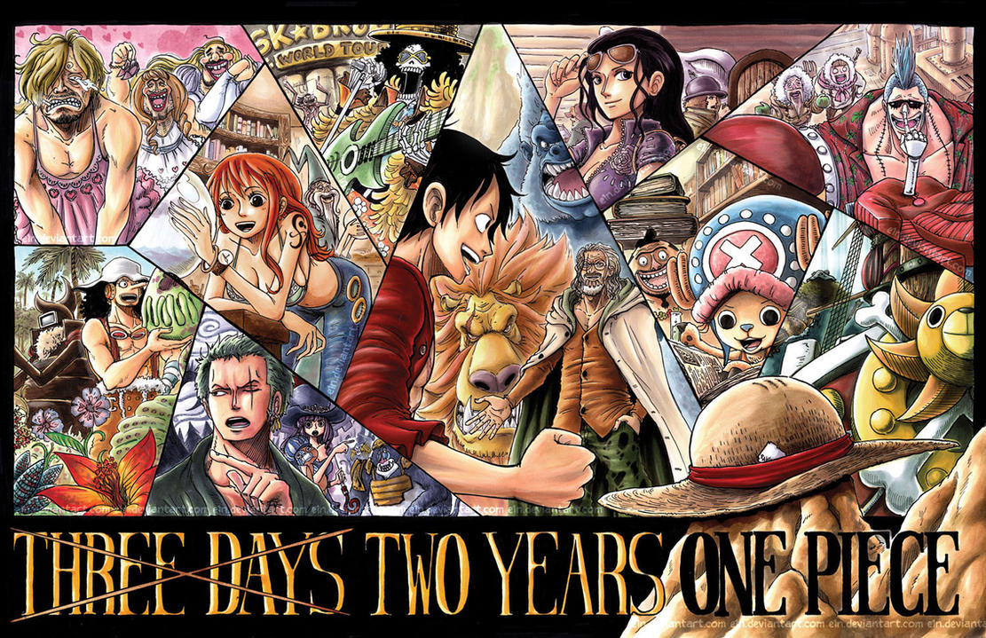 Three Days Two Years One Piece by ~e1n on deviantART : 人気 ...