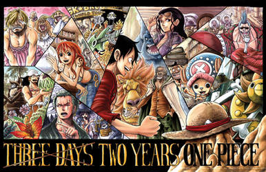 Three Days Two Years One Piece