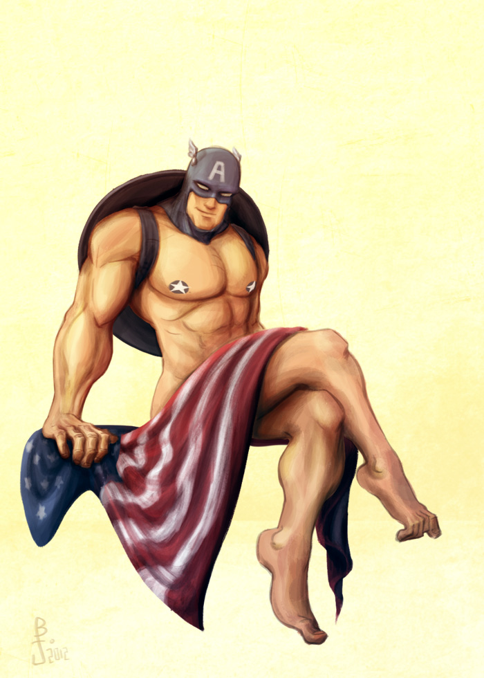 Cap-Pin-Up-Merica by e1n