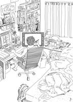 My Room by e1n