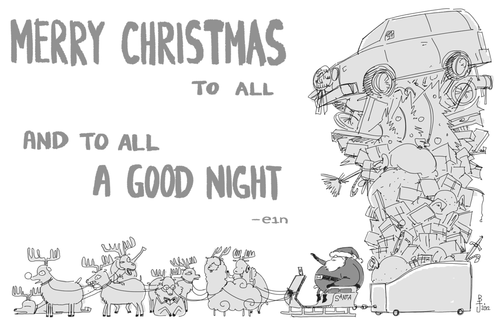Merry Christmas 2012 by e1n