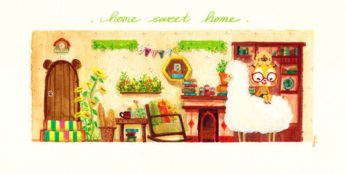 Home Sweet Home by e1n