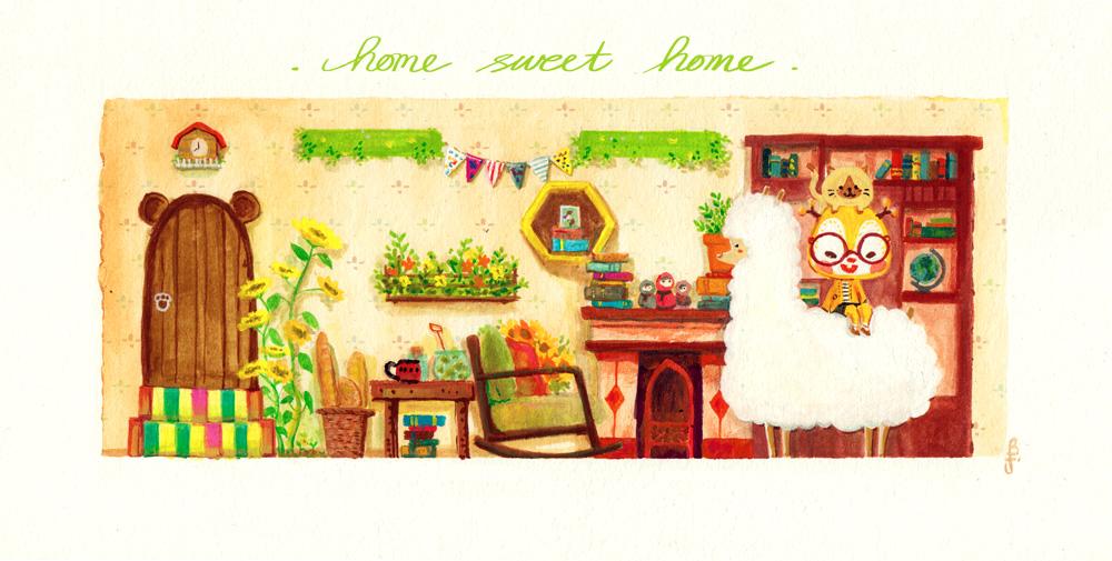 Home Sweet Home by e1n
