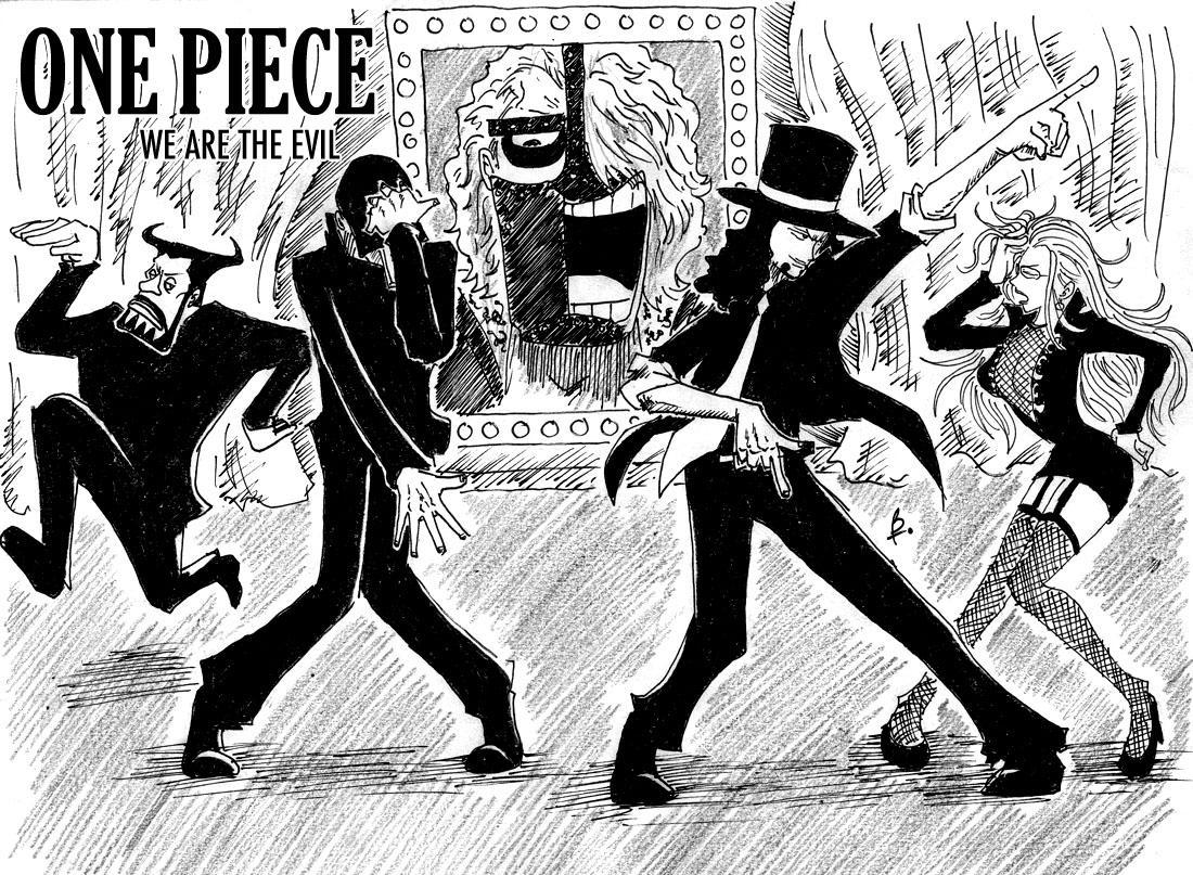 Image drôle ou Parodie de One Piece Evilness_by_e1n