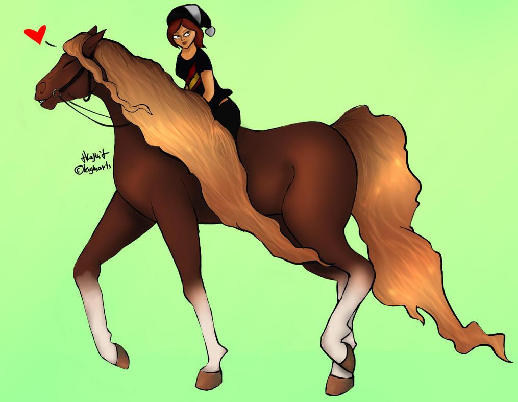 Sandra Ponyhand by KajusArts