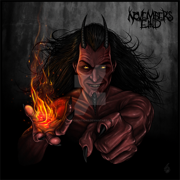 Lucifer Devil: EMBRACED By DARKNESS: LUCIFER By IJS-Creations On DeviantArt
