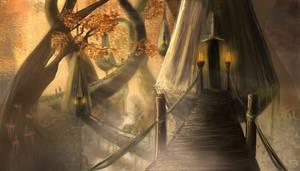 Sunforest fairy tale by AlivBonano