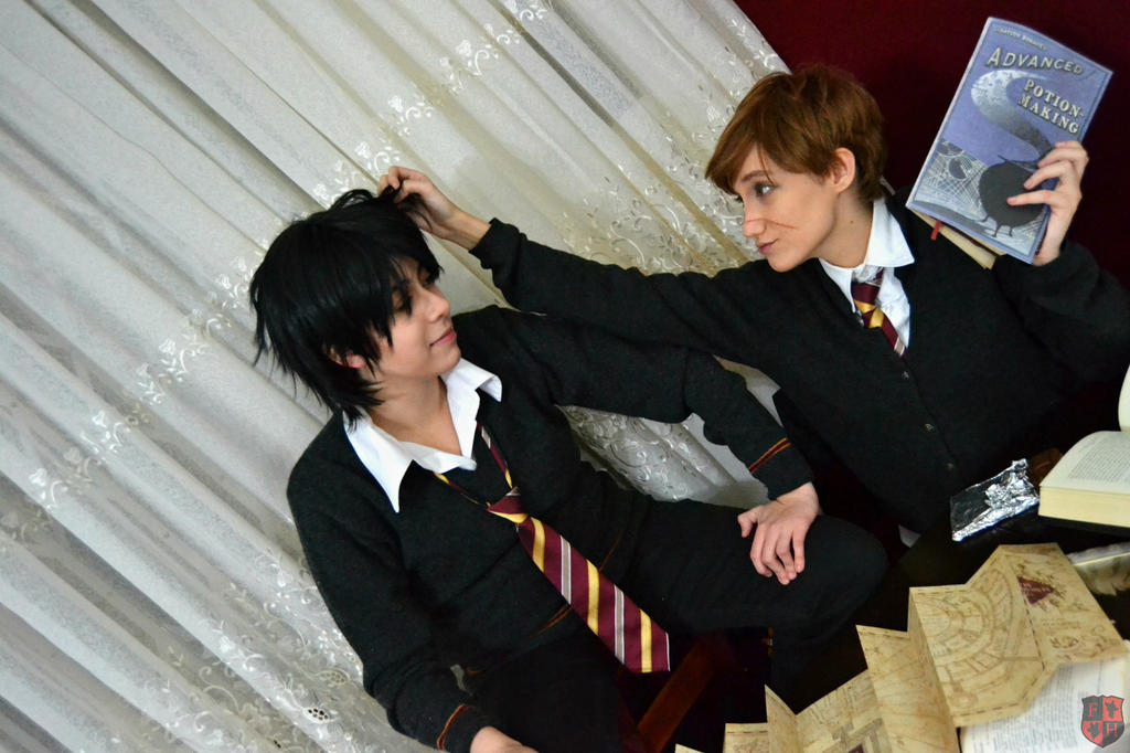 Remus Lupin - 'I need to study now, Puppy.' by TakaMoony