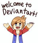 Welcome To Deviantart! (Redraw)
