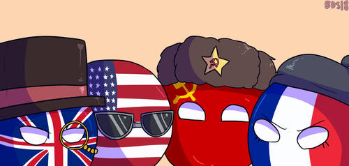 Me and the boys (COUNTRYBALLS)