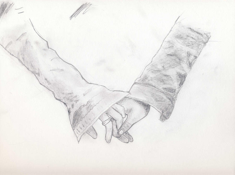People Holding Hands Sketch People Holding Hands Sketch Love