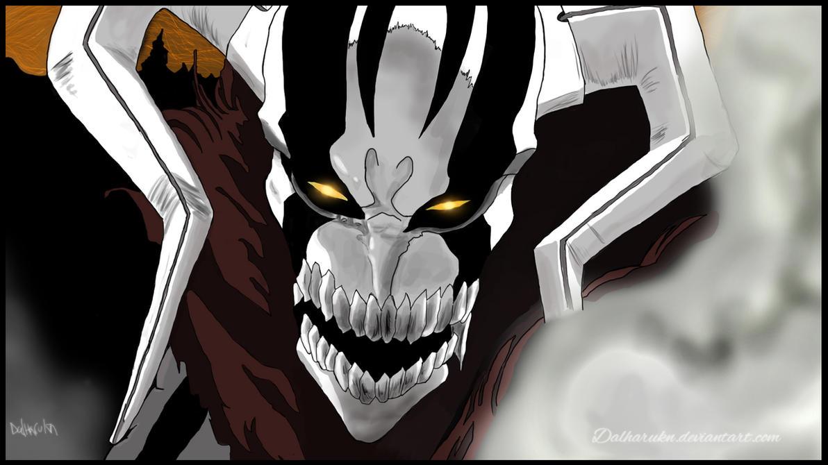 Ichigo Full Hollow Form by Dalharukn on DeviantArt