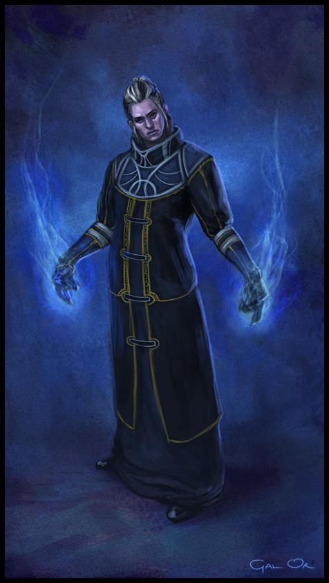 Speedpainting - Dark Wizard by godofwar on DeviantArt