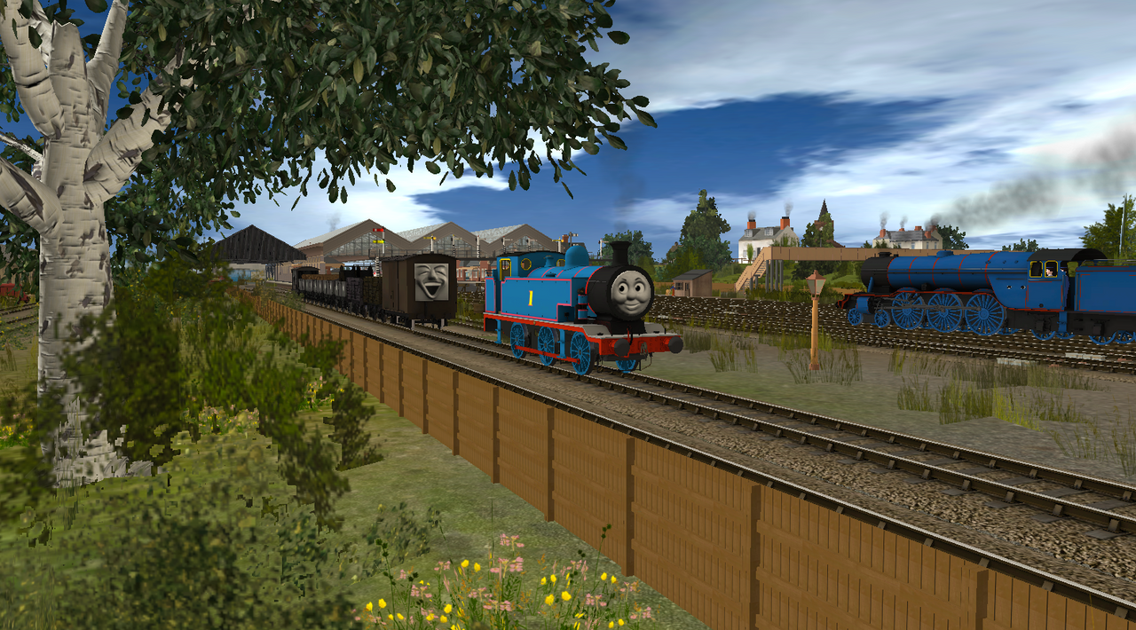 Thomas And The Trucks By THETHOMAS4 On DeviantArt