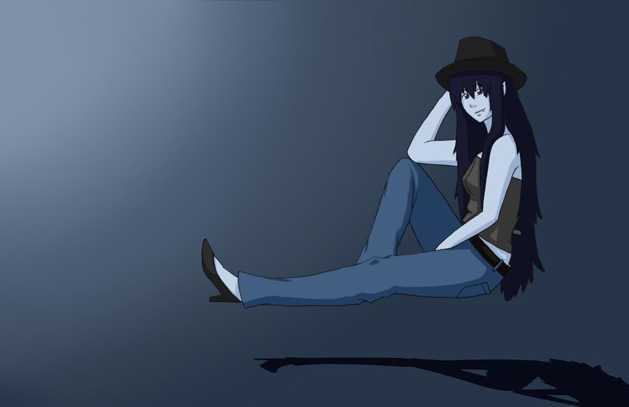 Marceline The Vampire Queen by TheBlackEwe