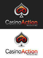 Casino Action Logo by kipela