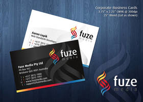 Fuze Media Business Cards by kipela