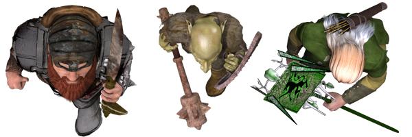 Virtual Tabletop Tokens Fantasy Vol 1 - DramaScape | Miniatures |  DriveThruRPG com