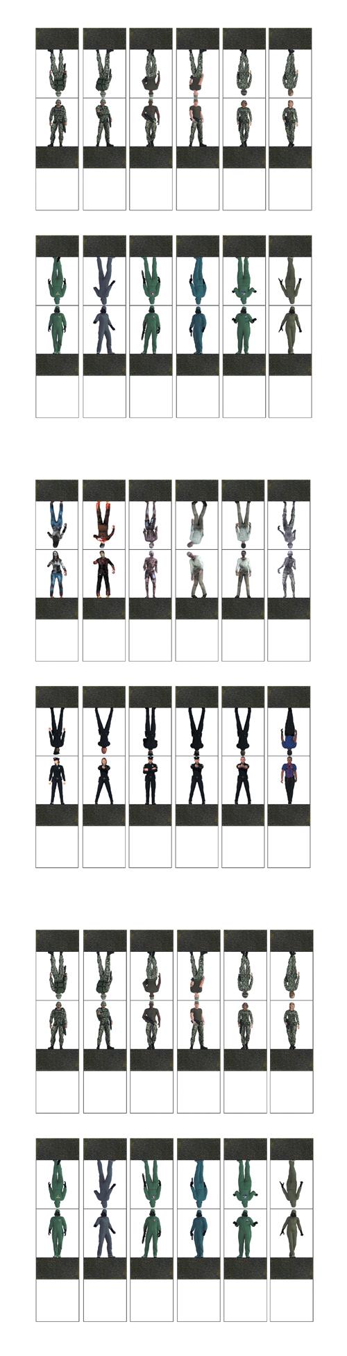 [DramaScape] Zombies Vs Survivors Miniatures