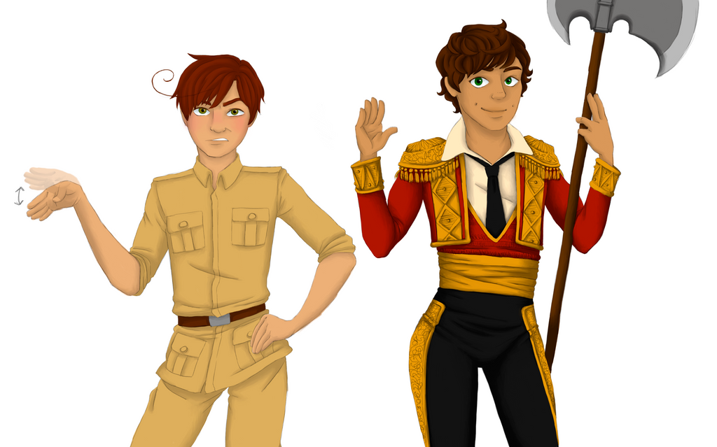 Spain And Romano Bye by OutskirtsOfInsanity