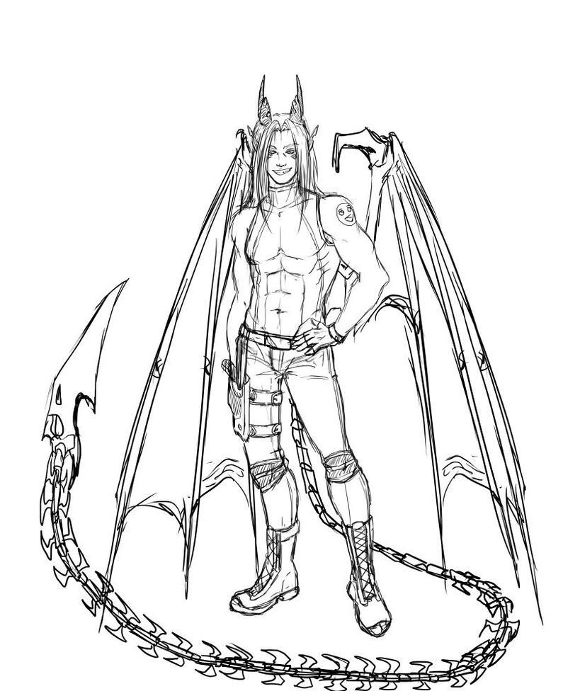 Rei sketch by Keahri