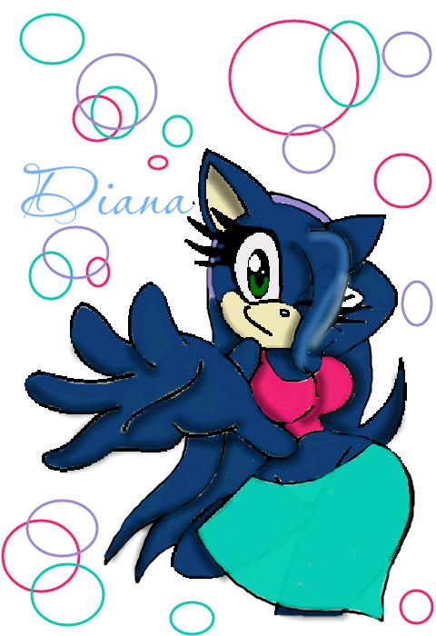 .:Art Trade:. Diana the Hedgehog by blazecat713