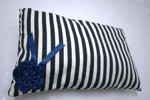stripey pillow by MummyNayli