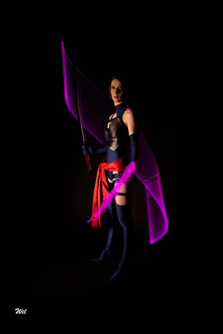 Psylocke Power by NeaCosplay