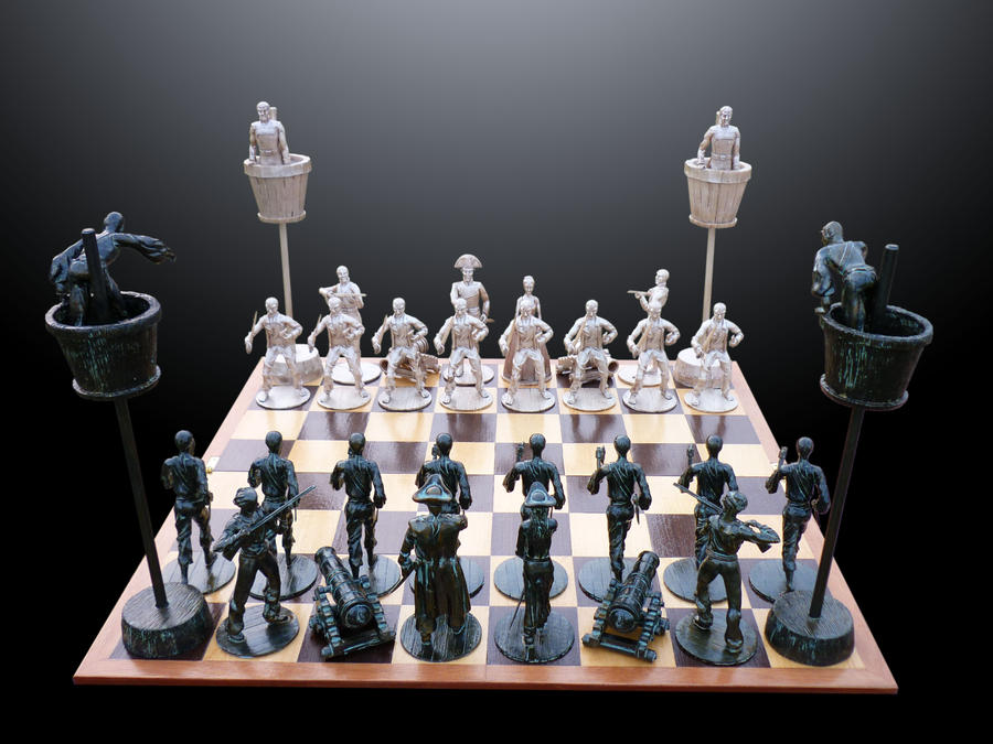 Pirate Chess Set I By Barbaragreco On Deviantart