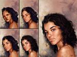 Portrait Study - Process