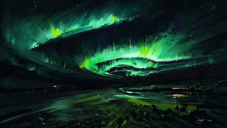 Aurora by BisBiswas