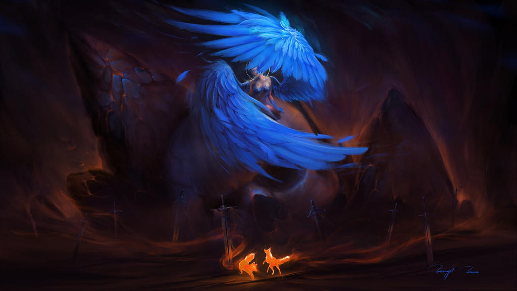 Angel of Death by BisBiswas